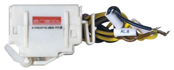 Додатковий сигнальний контакт e.industrial.ukm.400Sm/400SL.B