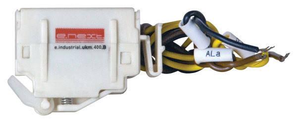 Додатковий сигнальний контакт e.industrial.ukm.400Sm/400SL.B, фото 2