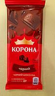 Шоколад Корона чорний 85 г