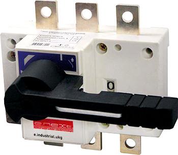 Вимикач-роз'єднувач навантаження e.industrial.ukg.500.3, 3р, 500А, з фронтальною