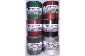 LOGICTAPE лента бутил-кауч,алюминиевая 250мм/10м