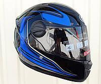 Шлем Интеграл тёмно синий размер M
