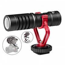 Мікрофон конденсаторний Boya BY-MM1 Для відеокамери, а також смартфонів, і планшетів., фото 2