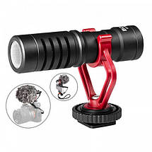 Микрофон конденсаторный Boya BY-MM1 Для видеокамеры, а также смартфонов, и планшетов., фото 2