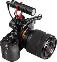 Мікрофон конденсаторний Boya BY-MM1 Для відеокамери, а також смартфонів, і планшетів., фото 3
