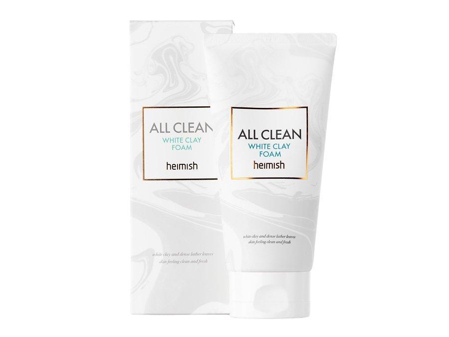 Матирующая пенка для глубокого очищения Heimish All Clean White Clay Foam, 150 ml