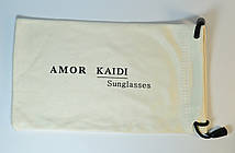 Чехол AMOR для очков белый