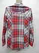 Блуза - рубашка фирменная женская MULTIBLU хлопок 46-48 р., 212бж, фото 5