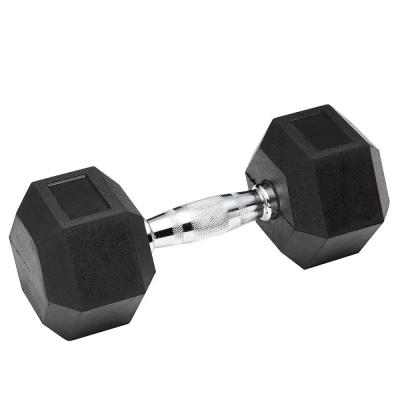 Гантель обрезиненная SPART 47,5 кг, фото 2