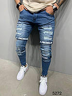 Мужские джинсы синие 2Y Premium 5272, фото 1