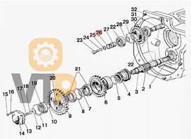 Кільце МТЗ  025-030-30-1-4 корпуса зчепл. гума