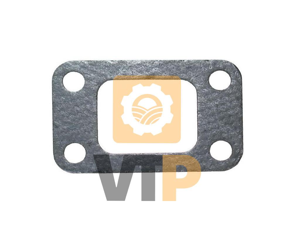 Прокладка МТЗ  245-1008016  перехідника колектора та ТКР  (метал.) (вир-во Радіохвиля)