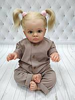 Детский ромпер из льна Капучино