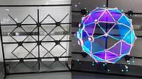 Голографический проектор 3d стойка на 9  вентиляторов IEZway 4 лопасти