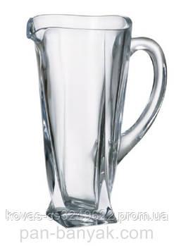 Кувшин Bohemia Quadro 700мл h23 см богемское стекло (b3K735-99A44)