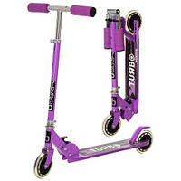 Самокат для девочки или мальчика  iTrike SR2-001-V фиолетовый