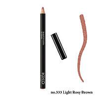 Олівець для губ Kiko Smart Fusion Lip Pencil no.533