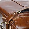 Мужская кожаная сумка через плечо Borsa Leather K15027-brown, фото 6