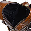 Мужская кожаная сумка через плечо Borsa Leather K15027-brown, фото 8