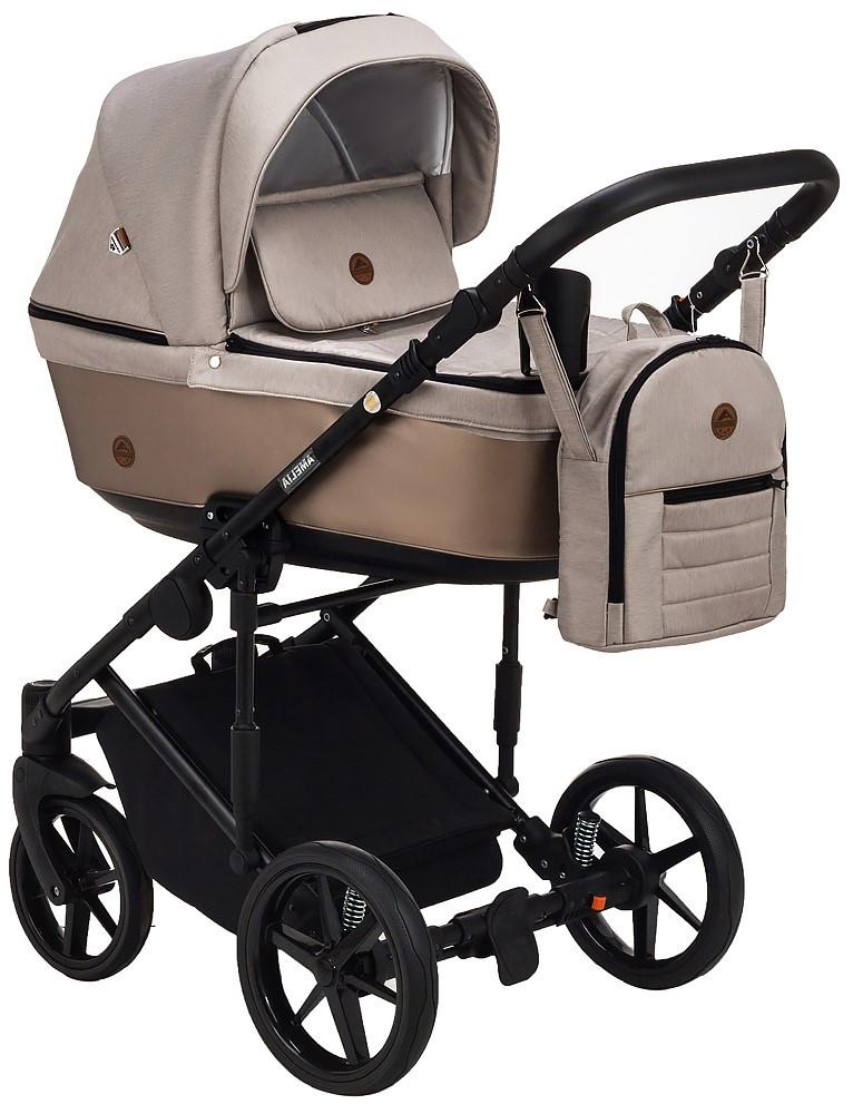 Детская универсальная коляска 2 в 1 Adamex Amelia Lux AM277