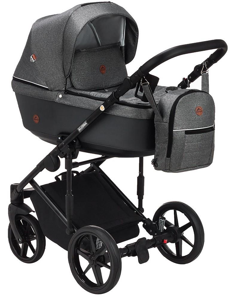 Детская универсальная коляска 2 в 1 Adamex Amelia Lux AM283