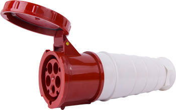 Силова розетка переносна e.socket.pro.5.125, 5п., 380В, IP 67, 125А (245), фото 2