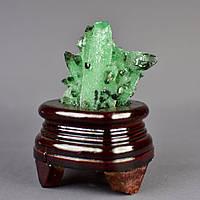 Сувенир Ирландский мох натуральный камень на подставке H-8см (с подставкой) Код: 3684339