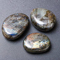 Сувенир натуральный камень Лабрадор ассорти размеров Код: 3684489