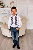 Дитяча вишита сорочка для хлопчика, фото 1