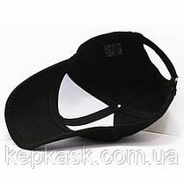 Бейсболка котон черная JNS clothing (ТКАНЬ-ТОЧКА), фото 3
