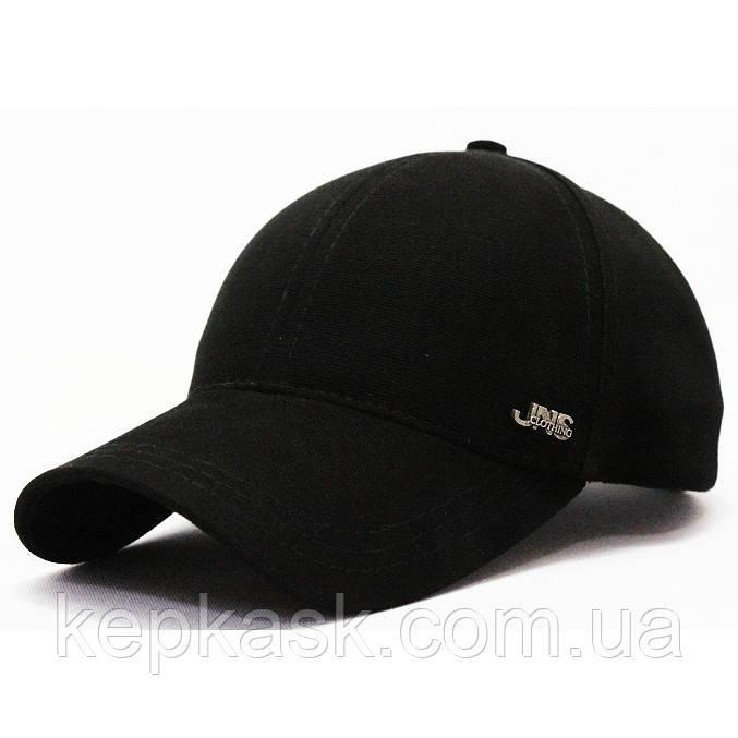 Бейсболка котон черная JNS clothing (ТКАНЬ-ТОЧКА)