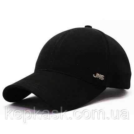 Бейсболка котон черная JNS clothing (ТКАНЬ-ТОЧКА), фото 2