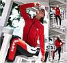 Р 42-54 Спортивний костюм з кофтою на змійці Батал 21875-1