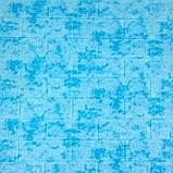3D панель самоклеящаяся, декоративные 3Д панели для стен, Голубой Мрамор, фото 2