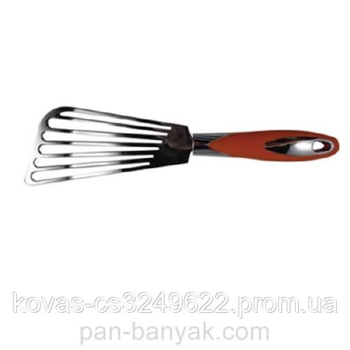 Лопатка кулинарная Maestro  перфорированная длина 30 см нержавейка (1734O MR)