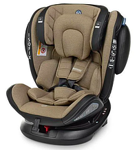 Автокресло El Camino (группа 0-1-2-3 (0-36кг) EVOLUTION 360º Royal Beige IsoFix