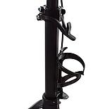 Складной самокат для детей и взрослых 2-015 с ручным тормозом и фонариком, фото 3