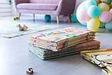 """Дитячий двосторонній килимок складний ігровий """"Тварини - Ростомір"""" 200х150 см + сумка-чохол, фото 6"""