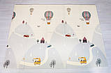 """Детский термо коврик складной игровой двусторонний """"Воздушный шар - Животные"""" 200х150 см +чехол, фото 7"""