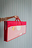 """Дитячий термо килимок складний ігровий двосторонній """"Повітряна куля - Тварини"""" 200х150 см +чохол, фото 9"""