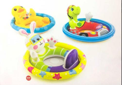 Детский надувной круг плотик INTEX 59570