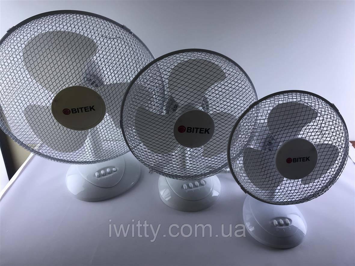 Настольный вентилятор bitek bt-1910 (23См 20ВТ)