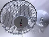 Настольный вентилятор bitek bt-1910 (23См 20ВТ), фото 2