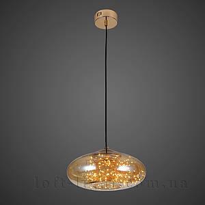 Люстра   лофт  52-9764-LED AMBER
