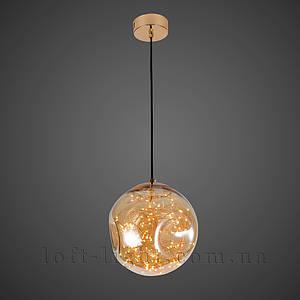 Люстра   лофт  52-9765-LED AMBER
