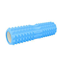 Массажный валик Dobetters Roller Blue 45*13 см ролик для массажа спины шеи роллер