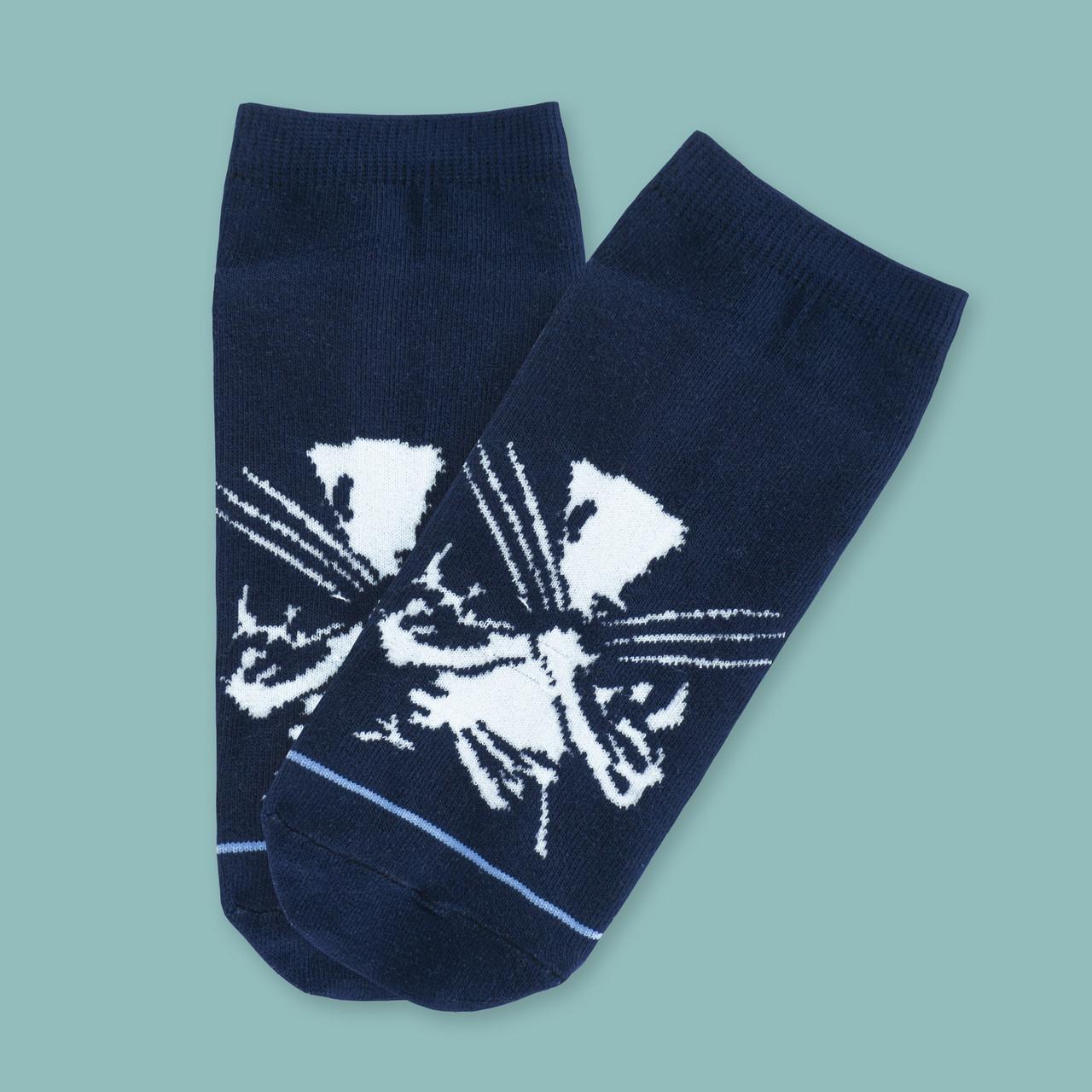 Носки черные X-Man короткие