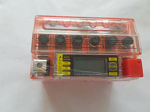 Аккумулятор 4A 12V Honda/Yamaha (YTX4L-BS) VLAND гелевий с цифровым вольтметром 113x70x87, фото 2