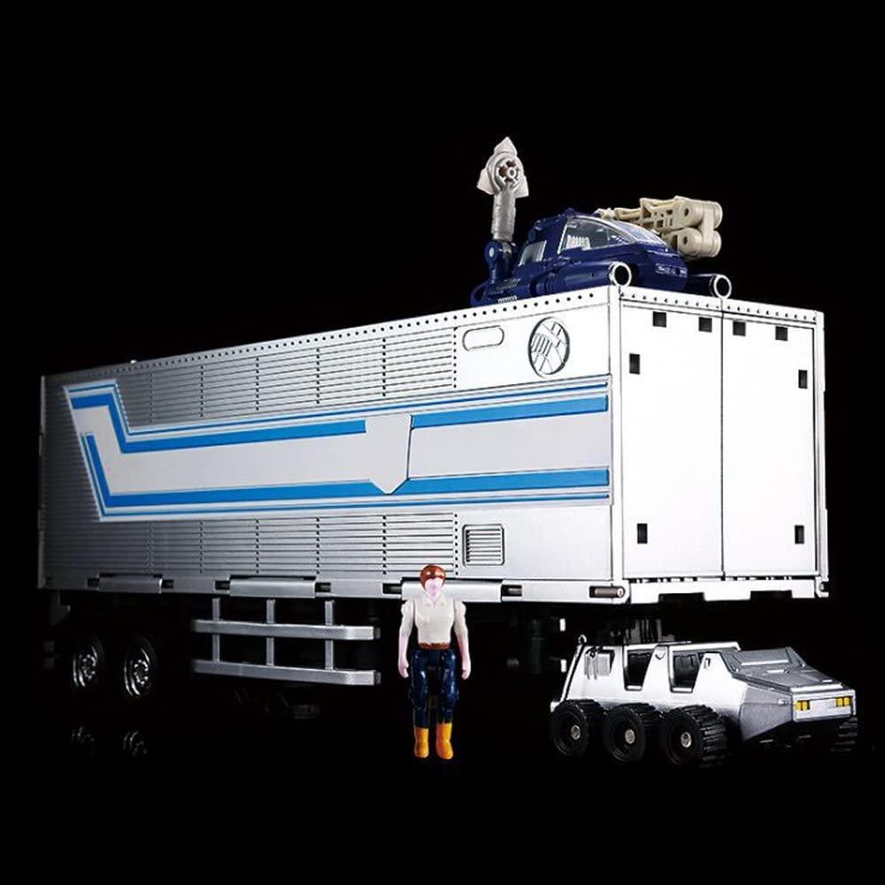 Прицеп-трансформер KuBianBao, для Оптимуса Прайма (MP10), 25 см - Transform trailer, for Optimus Prime
