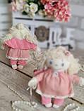 "Ангел ""Маленька красуня"",ангел ручної роботи, 18 см., 160/130 (цена за 1ангела +30гр.), фото 4"